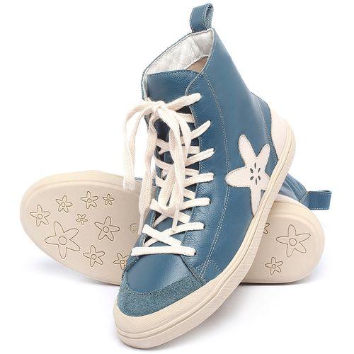 Laranja_Lima_Shoes_Sapatos_Femininos_Tenis_Cano_Alto_em_Couro_Azul_-_Codigo_-_56211_2