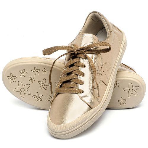 Laranja_Lima_Shoes_Sapatos_Femininos_Tenis_Cano_Baixo_em_Couro_Metalizado_-_Codigo_-_56213_2