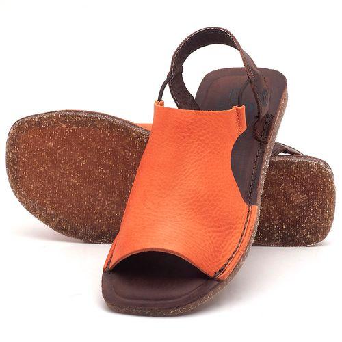 Laranja_Lima_Shoes_Sapatos_Femininos_Sandalia_Rasteira_Flat_em_Couro_Laranja_-_Codigo_-_141043_2