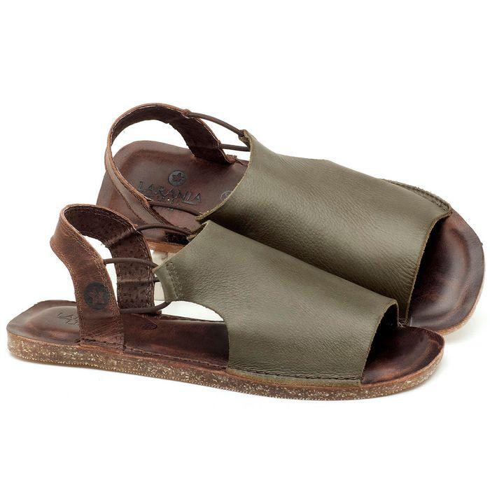 Laranja_Lima_Shoes_Sapatos_Femininos_Sandalia_Rasteira_Flat_em_Couro_Musgo_-_Codigo_-_141043_1