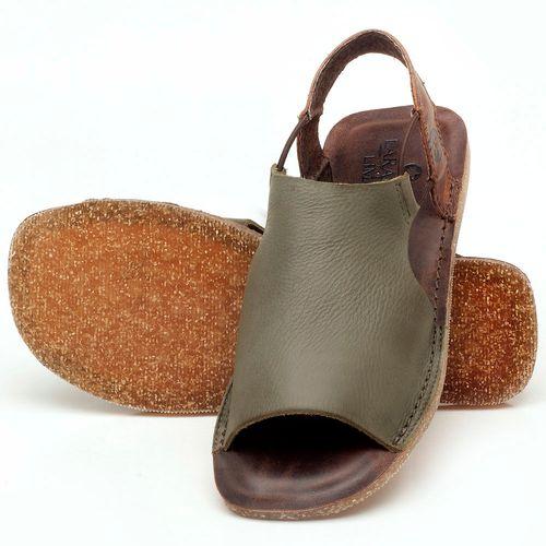 Laranja_Lima_Shoes_Sapatos_Femininos_Sandalia_Rasteira_Flat_em_Couro_Musgo_-_Codigo_-_141043_2