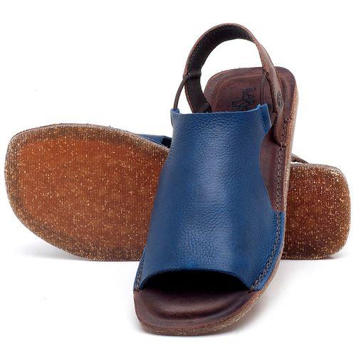 Laranja_Lima_Shoes_Sapatos_Femininos_Sandalia_Rasteira_Flat_em_Couro_Azul_-_Codigo_-_141043_2
