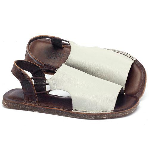 Laranja_Lima_Shoes_Sapatos_Femininos_Sandalia_Rasteira_Flat_em_Couro_Off-White_-_Codigo_-_141043_1
