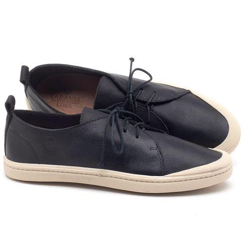 Laranja_Lima_Shoes_Sapatos_Masculinos_Tenis_Cano_Baixo_em_Couro_Preto_-_Codigo_-_141085_1