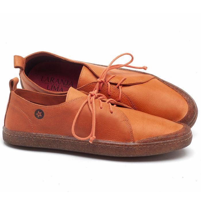 Laranja_Lima_Shoes_Sapatos_Masculinos_Tenis_Cano_Baixo_em_Couro_Laranja_-_Codigo_-_141085_1