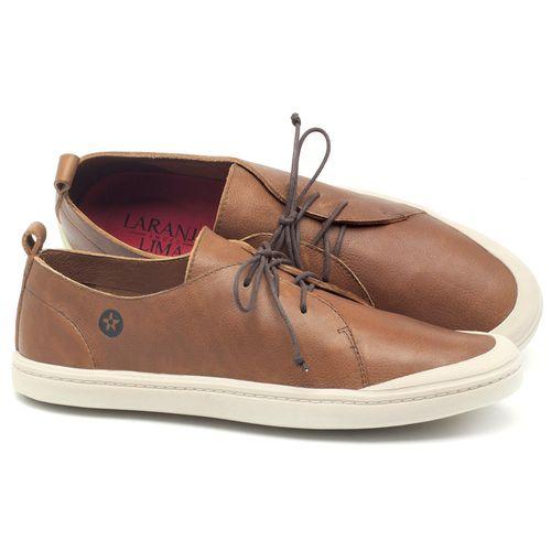 Laranja_Lima_Shoes_Sapatos_Masculinos_Tenis_Cano_Baixo_em_Couro_Caramelo_-_Codigo_-_141085_1