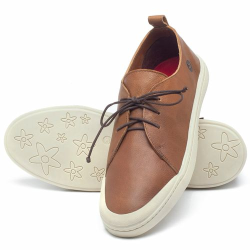 Laranja_Lima_Shoes_Sapatos_Masculinos_Tenis_Cano_Baixo_em_Couro_Caramelo_-_Codigo_-_141085_2