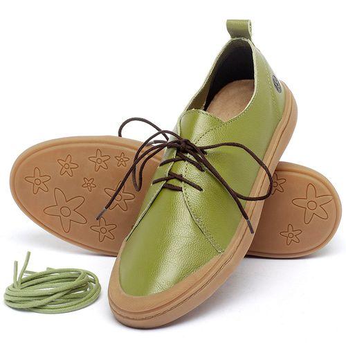 Laranja_Lima_Shoes_Sapatos_Masculinos_Tenis_Cano_Baixo_em_Couro_Verde_-_Codigo_-_141085_2