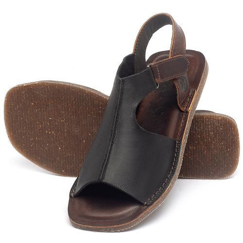 Laranja_Lima_Shoes_Sapatos_Femininos_Sandalia_Rasteira_Flat_em_Couro_Preto_-_Codigo_-_141111_2
