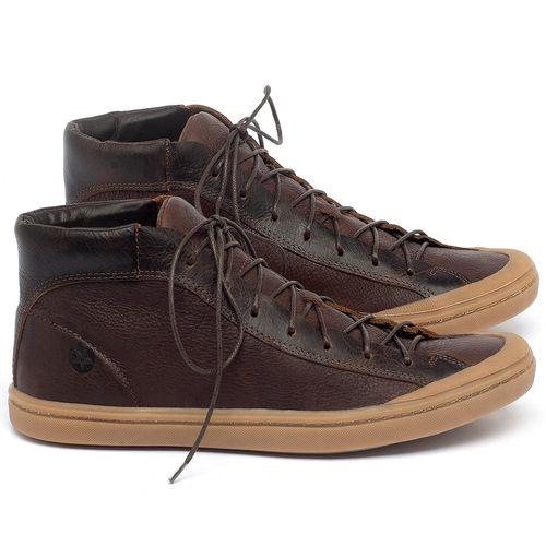 Laranja_Lima_Shoes_Sapatos_Masculinos_Tenis_Cano_Alto_em_Couro_Marrom_-_Codigo_-_141141_1