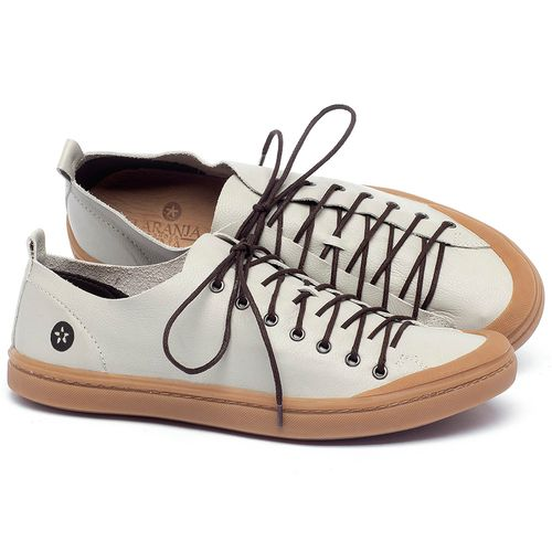 Laranja_Lima_Shoes_Sapatos_Masculinos_Tenis_Cano_Baixo_em_Couro_Off-White_-_Codigo_-_141142_1
