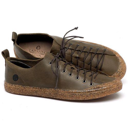 Laranja_Lima_Shoes_Sapatos_Masculinos_Tenis_Cano_Baixo_em_Couro_Verde_-_Codigo_-_141142_1