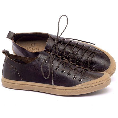 Laranja_Lima_Shoes_Sapatos_Masculinos_Tenis_Cano_Baixo_em_Couro_Marrom_-_Codigo_-_141142_4