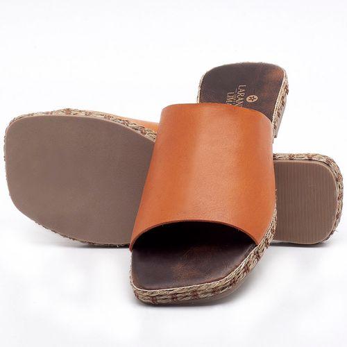 Laranja_Lima_Shoes_Sapatos_Femininos_Sandalia_Rasteira_Flat_em_Couro_Laranja_-_Codigo_-_9449_2