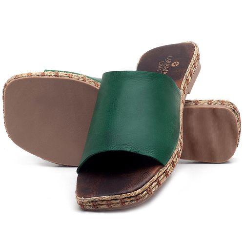 Laranja_Lima_Shoes_Sapatos_Femininos_Sandalia_Rasteira_Flat_em_Couro_Verde_-_Codigo_-_9449_2