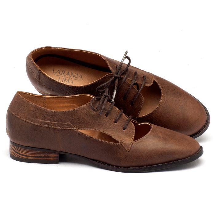 Laranja_Lima_Shoes_Sapatos_Femininos_Oxford_Laranja_Lima_Shoes_Salto_de_2_cm_em_Couro_Cafe_-_Codigo_-_9383_1