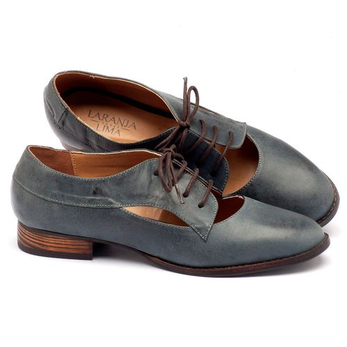 Laranja_Lima_Shoes_Sapatos_Femininos_Oxford_Laranja_Lima_Shoes_Salto_de_2_cm_em_Couro_Azul_-_Codigo_-_9383_1