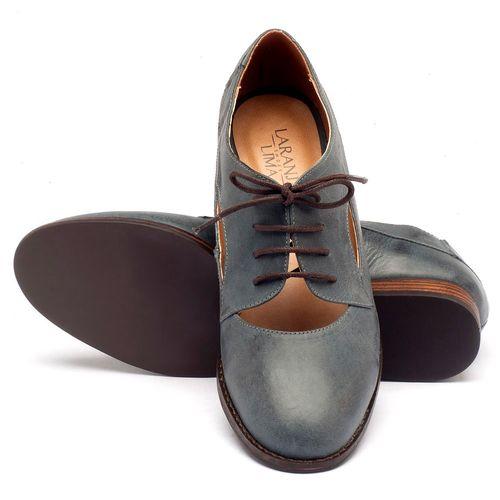 Laranja_Lima_Shoes_Sapatos_Femininos_Oxford_Laranja_Lima_Shoes_Salto_de_2_cm_em_Couro_Azul_-_Codigo_-_9383_2