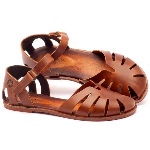 Laranja_Lima_Shoes_Sapatos_Femininos_Sandalia_Rasteira_Flat_em_Couro_Caramelo_-_Codigo_-_136072_1