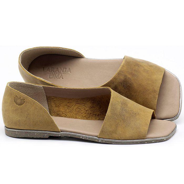 Laranja_Lima_Shoes_Sapatos_Femininos_Sandalia_Rasteira_Flat_em_Couro_Amarelo_-_Codigo_-_145013_1