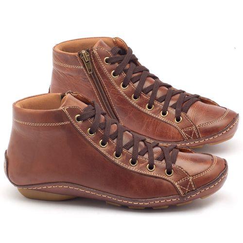 Laranja_Lima_Shoes_Sapatos_Femininos_Tenis_Cano_Alto_em_Couro_Marrom_-_Codigo_-_136030_1