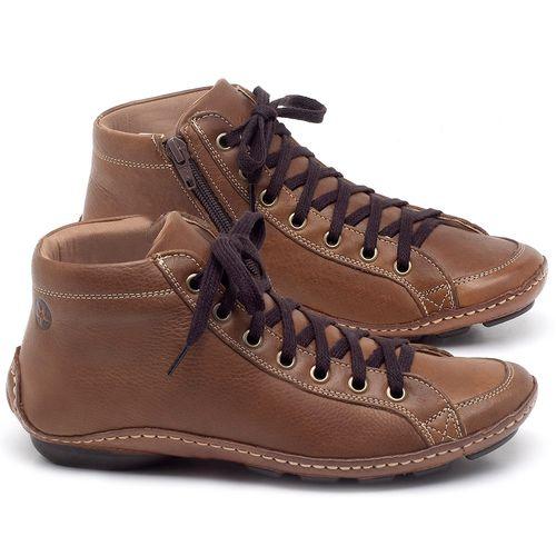 Laranja_Lima_Shoes_Sapatos_Femininos_Tenis_Cano_Alto_em_Couro_Caramelo_-_Codigo_-_136030_1