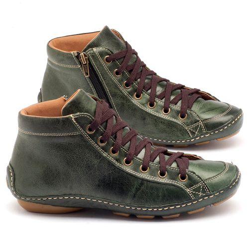 Laranja_Lima_Shoes_Sapatos_Femininos_Tenis_Cano_Alto_em_Couro_Verde_-_Codigo_-_136030_1