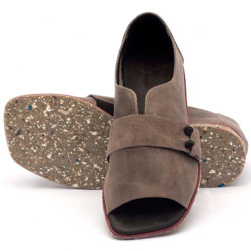 Laranja_Lima_Shoes_Sapatos_Femininos_Sandalia_Rasteira_Flat_em_Couro_Cinza_-_Codigo_-_145002_2