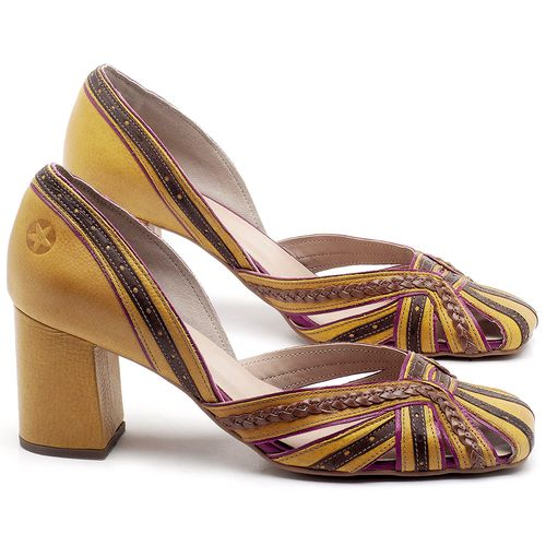 Laranja_Lima_Shoes_Sapatos_Femininos_Scarpin_Salto_Medio_de_6_cm_em_Couro_Amarelo_-_Codigo_-_3543_1