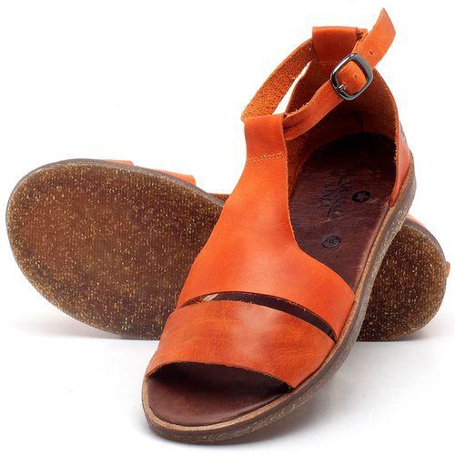 Laranja_Lima_Shoes_Sapatos_Femininos_Sandalia_Rasteira_Flat_em_Couro_Laranja_-_Codigo_-_141058_2