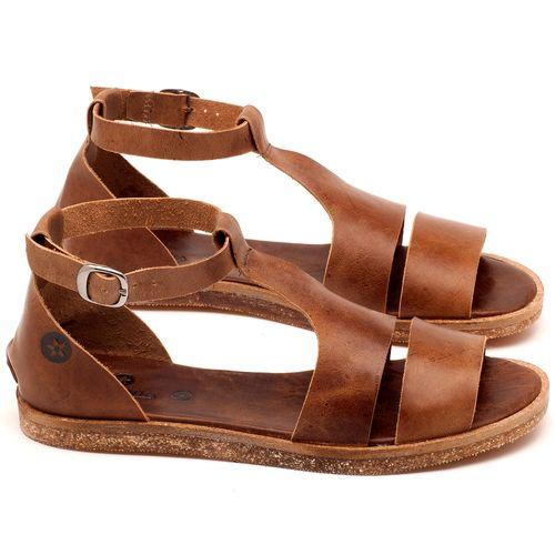 Laranja_Lima_Shoes_Sapatos_Femininos_Sandalia_Rasteira_Flat_em_Couro_Marrom_-_Codigo_-_141058_1