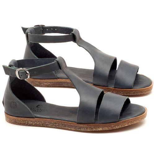 Laranja_Lima_Shoes_Sapatos_Femininos_Sandalia_Rasteira_Flat_em_Couro_Marinho_-_Codigo_-_141058_1