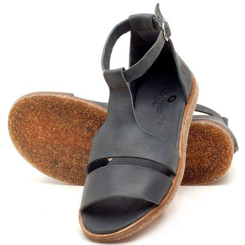 Laranja_Lima_Shoes_Sapatos_Femininos_Sandalia_Rasteira_Flat_em_Couro_Marinho_-_Codigo_-_141058_2