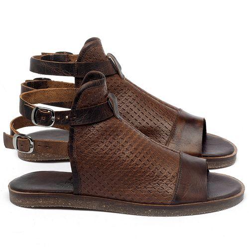 Laranja_Lima_Shoes_Sapatos_Femininos_Sandalia_Rasteira_Flat_em_Couro_Marrom_-_Codigo_-_141098_1
