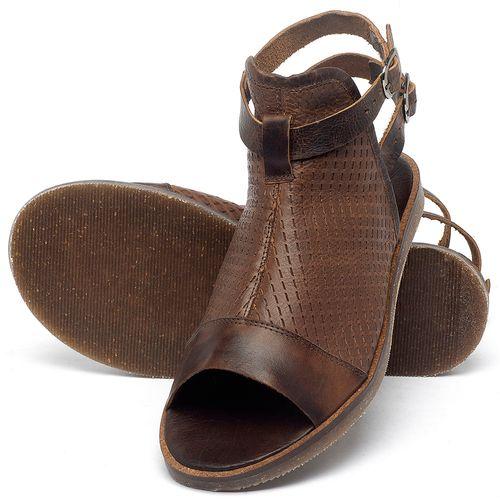 Laranja_Lima_Shoes_Sapatos_Femininos_Sandalia_Rasteira_Flat_em_Couro_Marrom_-_Codigo_-_141098_2