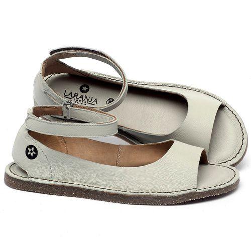 Laranja_Lima_Shoes_Sapatos_Femininos_Sandalia_Rasteira_Flat_em_Couro_Off-White_-_Codigo_-_141158_1