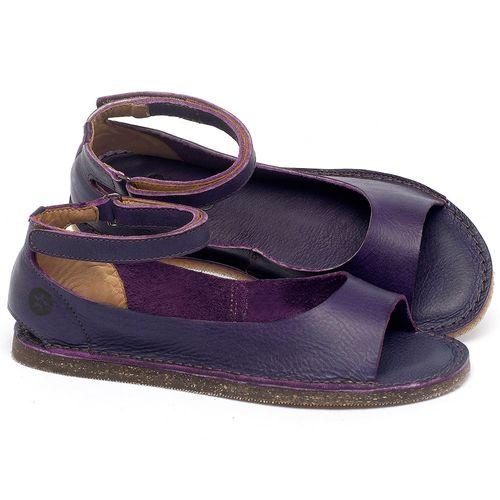 Laranja_Lima_Shoes_Sapatos_Femininos_Sandalia_Rasteira_Flat_em_Couro_Roxo_-_Codigo_-_141158_1