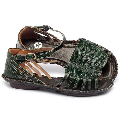 Laranja_Lima_Shoes_Sapatos_Femininos_Sandalia_Rasteira_Flat_em_Couro_Verde_-_Codigo_-_136003_1