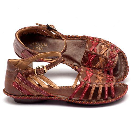 Laranja_Lima_Shoes_Sapatos_Femininos_Sandalia_Rasteira_Flat_em_Couro_Vermelho_-_Codigo_-_136003_1