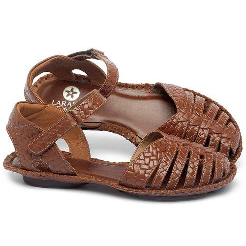 Laranja_Lima_Shoes_Sapatos_Femininos_Sandalia_Rasteira_Flat_em_Couro_Caramelo_-_Codigo_-_136027_1