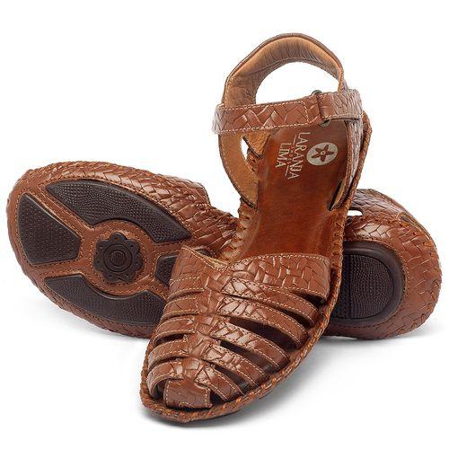 Laranja_Lima_Shoes_Sapatos_Femininos_Sandalia_Rasteira_Flat_em_Couro_Caramelo_-_Codigo_-_136027_2
