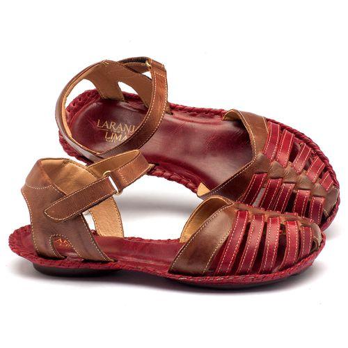Laranja_Lima_Shoes_Sapatos_Femininos_Sandalia_Rasteira_Flat_em_Couro_Vermelho_-_Codigo_-_136027_1