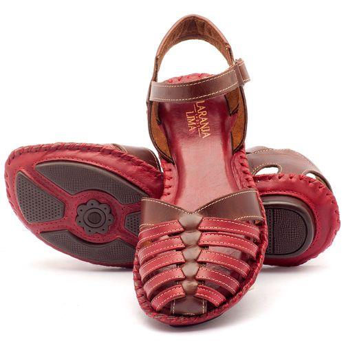 Laranja_Lima_Shoes_Sapatos_Femininos_Sandalia_Rasteira_Flat_em_Couro_Vermelho_-_Codigo_-_136027_2