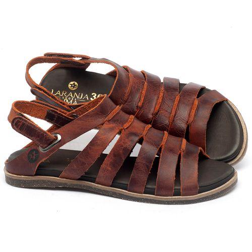 Laranja_Lima_Shoes_Sapatos_Femininos_Sandalia_Rasteira_Flat_em_Couro_Laranja_-_Codigo_-_137301_1