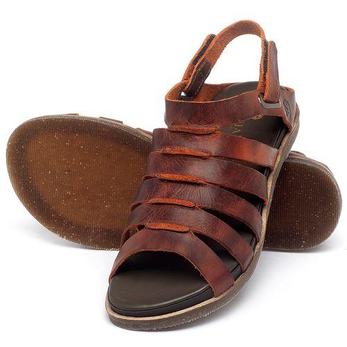 Laranja_Lima_Shoes_Sapatos_Femininos_Sandalia_Rasteira_Flat_em_Couro_Laranja_-_Codigo_-_137301_2
