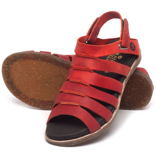 Laranja_Lima_Shoes_Sapatos_Femininos_Sandalia_Rasteira_Flat_em_Couro_Vermelho_-_Codigo_-_137301_2