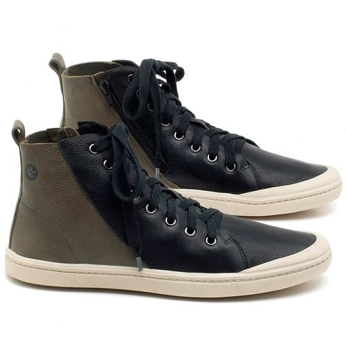Laranja_Lima_Shoes_Sapatos_Masculinos_Tenis_Masculino_Cano_Alto_em_Couro_Preto_-_Codigo_-_141087_1