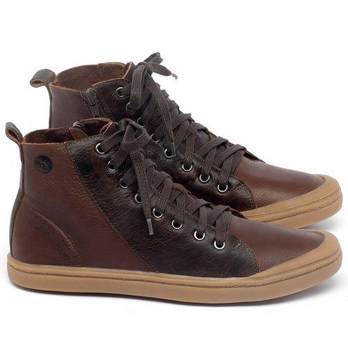Laranja_Lima_Shoes_Sapatos_Masculinos_Tenis_Masculino_Cano_Alto_em_Couro_Marrom_-_Codigo_-_141087_1
