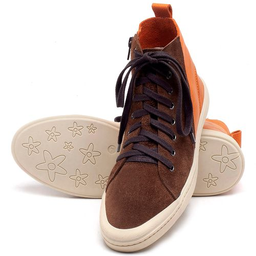 Laranja_Lima_Shoes_Sapatos_Masculinos_Tenis_Masculino_Cano_Alto_em_Couro_Laranja_-_Codigo_-_141087_2