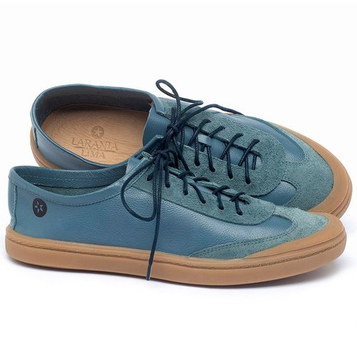Laranja_Lima_Shoes_Sapatos_Masculinos_Tenis_Masculino_Cano_Baixo_em_Couro_Azul_-_Codigo_-_141177_1